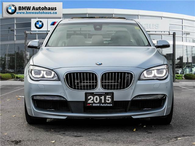 2015 BMW 750  (Stk: P8596) in Thornhill - Image 2 of 26