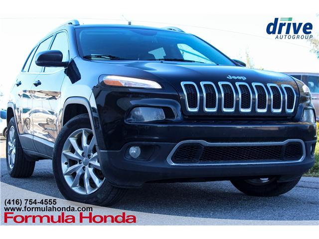 2016 Jeep Cherokee Limited (Stk: B10658) in Scarborough - Image 1 of 23