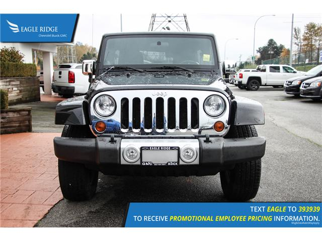 2011 Jeep Wrangler Unlimited Sahara (Stk: 118405) in Coquitlam - Image 2 of 14