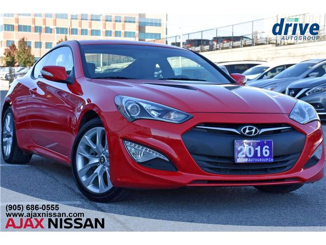 2016 Hyundai Genesis Coupe 3.8 Premium (Stk: T941A) in Ajax - Image 1 of 25