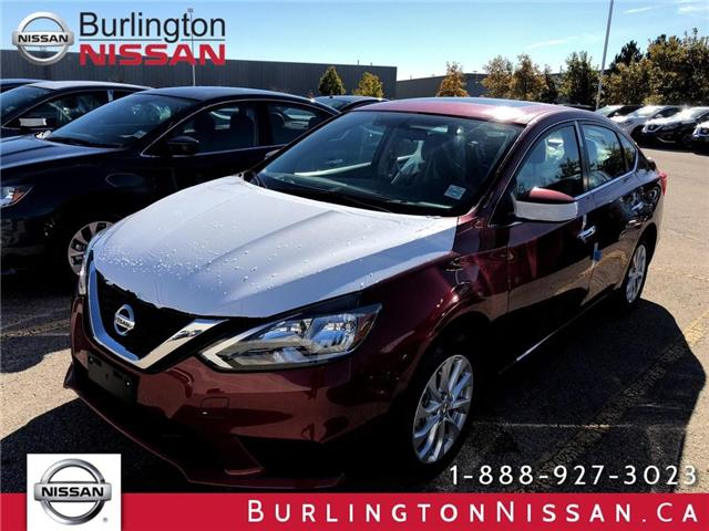 2019 Nissan Sentra 1.8 SV (Stk: Y6001) in Burlington - Image 1 of 5