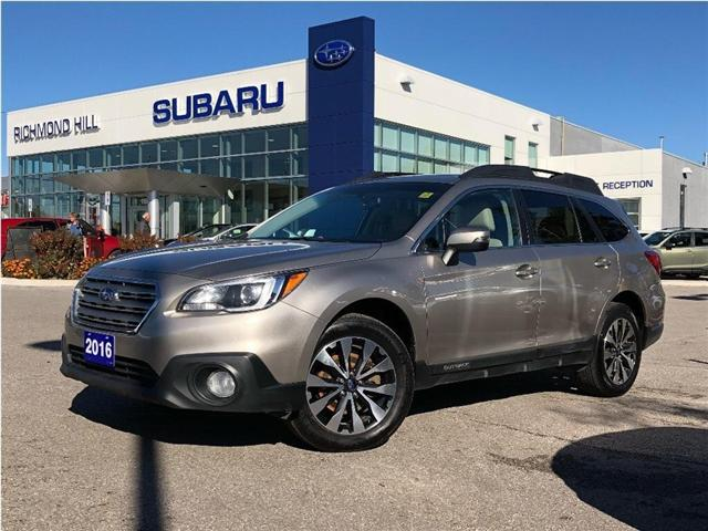 2016 Subaru Outback 3.6R Limited Package (Stk: P03745) in RICHMOND HILL - Image 1 of 25