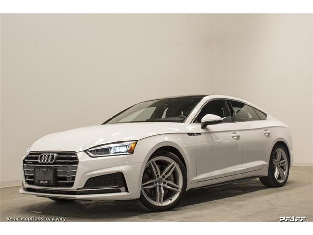 2018 Audi A5 2.0T Progressiv (Stk: T15800) in Vaughan - Image 1 of 7