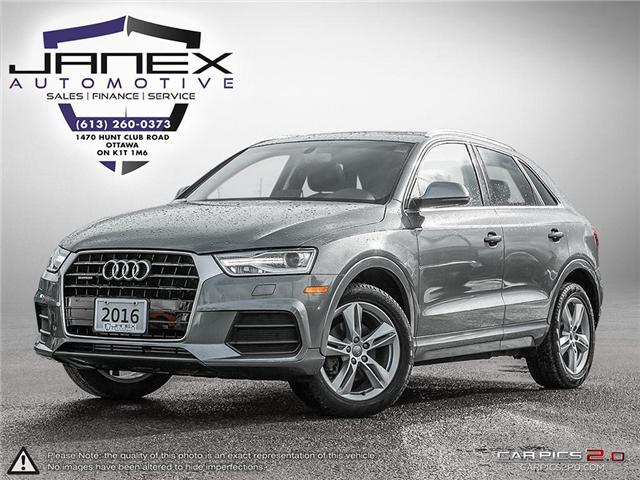 2016 Audi Q3 2.0T Progressiv (Stk: 18755) in Ottawa - Image 1 of 28
