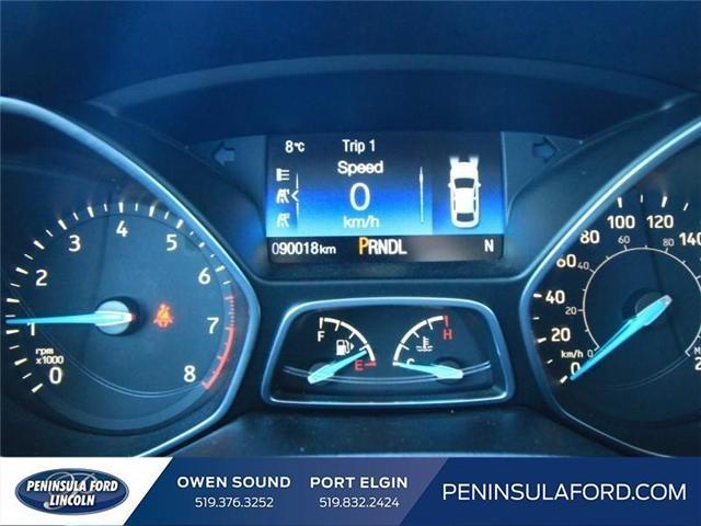 2016 Ford Focus SE (Stk: 1612) in Owen Sound - Image 14 of 15