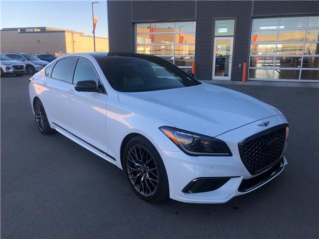 2018 Genesis G80 3.3T Sport KMHGN4JB5JU270614 G28000 in Saskatoon