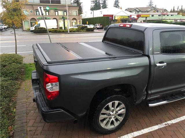 2016 Toyota Tundra Limited 5.7L V8 (Stk: JA555746A) in Surrey - Image 3 of 5