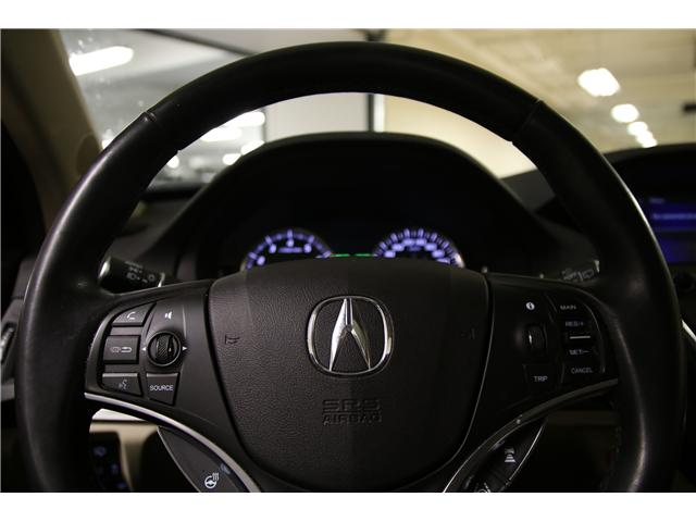 2017 Acura MDX Navigation Package (Stk: M12267A) in Toronto - Image 15 of 30