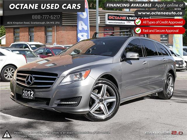 2012 Mercedes-Benz R-Class Base (Stk: ) in Scarborough - Image 1 of 25