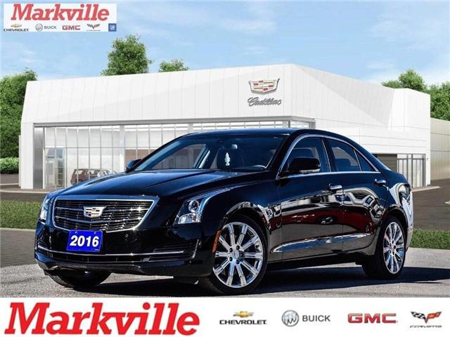 2016 Cadillac ATS LUXURY-AWD-LTHR-RF-GM CERTIFIED PRE-OWNED-1 OWNER (Stk: 103167A) in Markham - Image 1 of 29