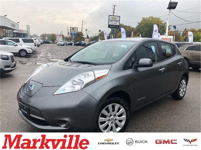 2015 Nissan LEAF S-80KW AC ELECTRIC-CERTIFIED PRE-OWNED (Stk: 101961A) in Markham - Image 1 of 15