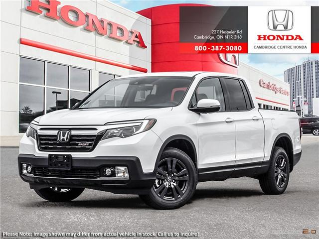 2019 Honda Ridgeline Sport (Stk: 19126) in Cambridge - Image 1 of 24
