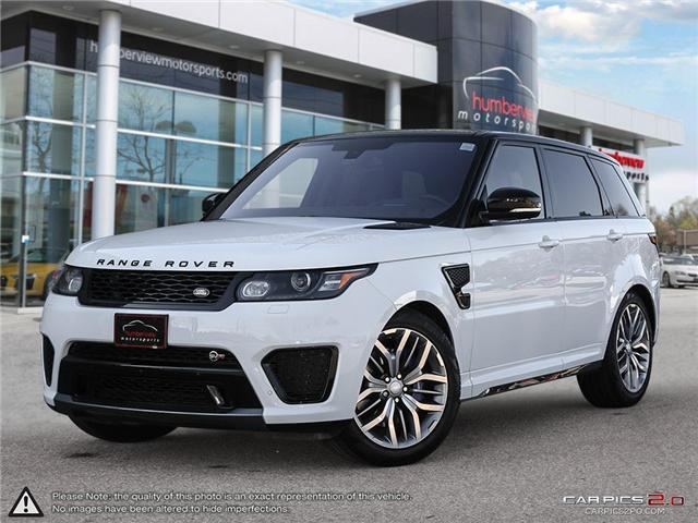 2016 Land Rover Range Rover Sport V8 Supercharged (Stk: 18HMS676) in Mississauga - Image 1 of 27