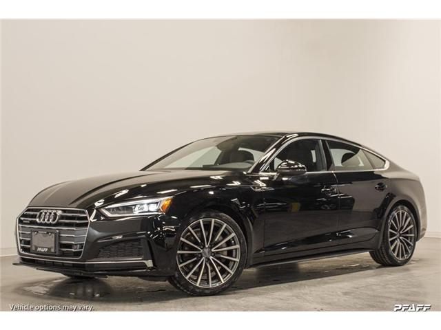 2018 Audi A5 2.0T Progressiv (Stk: T15840) in Vaughan - Image 1 of 7