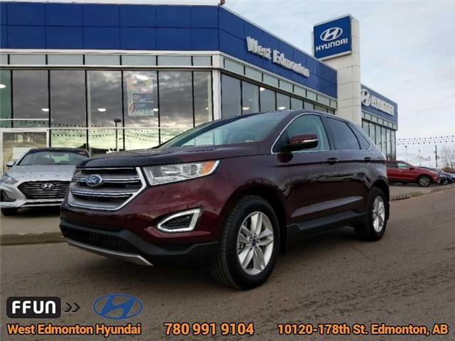 2017 Ford Edge SEL (Stk: P0851) in Edmonton - Image 1 of 21