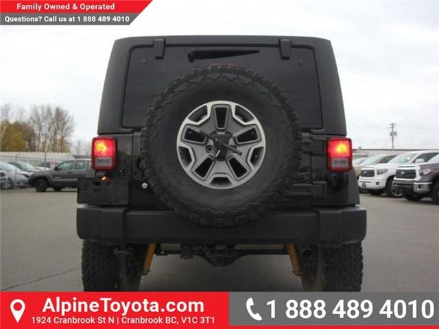 2016 Jeep Wrangler Rubicon (Stk: X146198A) in Cranbrook - Image 4 of 18