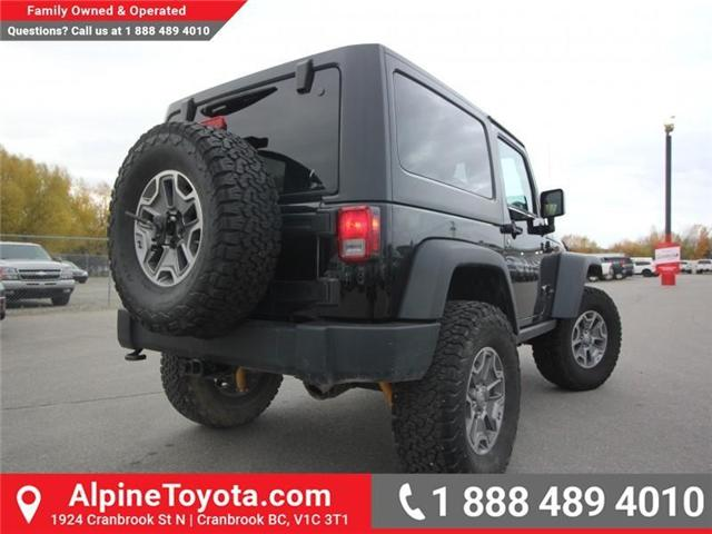 2016 Jeep Wrangler Rubicon (Stk: X146198A) in Cranbrook - Image 5 of 18