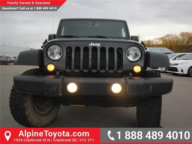 2016 Jeep Wrangler Rubicon (Stk: X146198A) in Cranbrook - Image 8 of 18