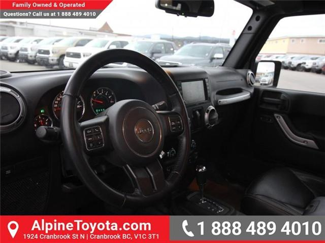 2016 Jeep Wrangler Rubicon (Stk: X146198A) in Cranbrook - Image 9 of 18