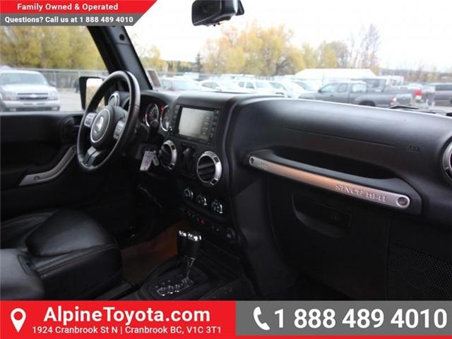 2016 Jeep Wrangler Rubicon (Stk: X146198A) in Cranbrook - Image 11 of 18