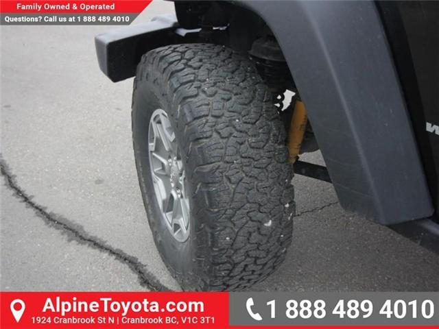 2016 Jeep Wrangler Rubicon (Stk: X146198A) in Cranbrook - Image 16 of 18