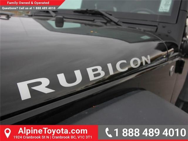 2016 Jeep Wrangler Rubicon (Stk: X146198A) in Cranbrook - Image 18 of 18