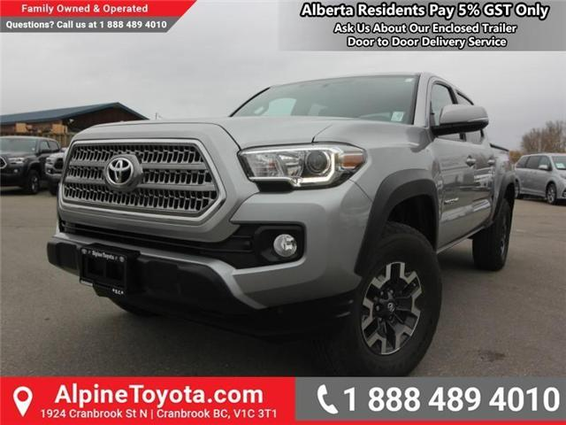 2017 Toyota Tacoma TRD Off Road (Stk: X091333M) in Cranbrook - Image 1 of 18