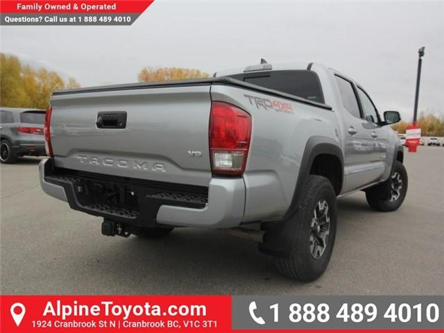 2017 Toyota Tacoma TRD Off Road (Stk: X091333M) in Cranbrook - Image 5 of 18