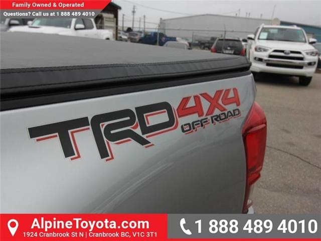 2017 Toyota Tacoma TRD Off Road (Stk: X091333M) in Cranbrook - Image 17 of 18