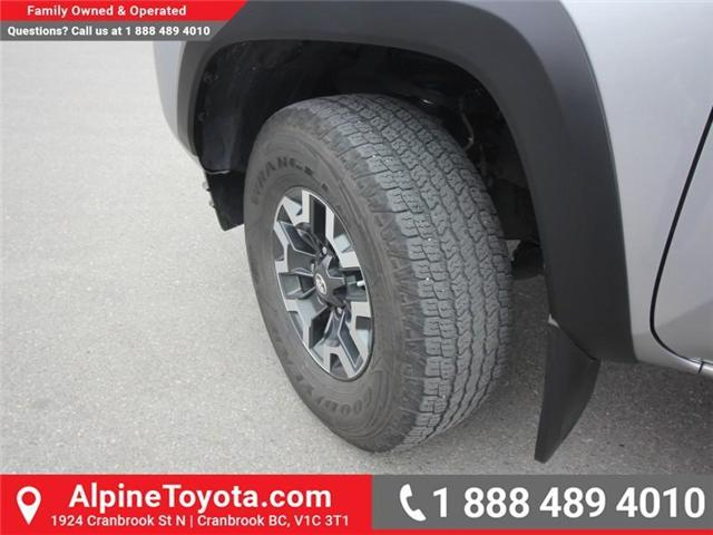 2017 Toyota Tacoma TRD Off Road (Stk: X091333M) in Cranbrook - Image 18 of 18