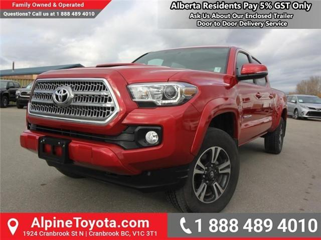 2017 Toyota Tacoma TRD Sport (Stk: X168867A) in Cranbrook - Image 1 of 20
