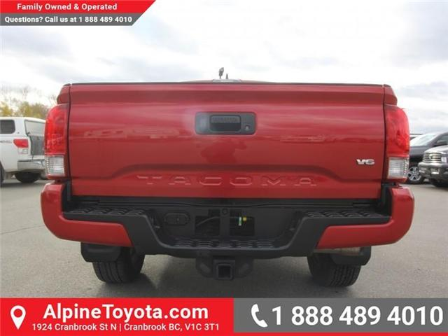2017 Toyota Tacoma TRD Sport (Stk: X168867A) in Cranbrook - Image 4 of 20