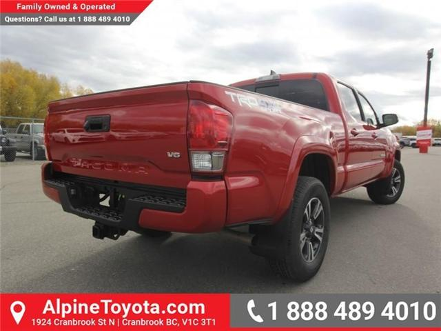 2017 Toyota Tacoma TRD Sport (Stk: X168867A) in Cranbrook - Image 5 of 20