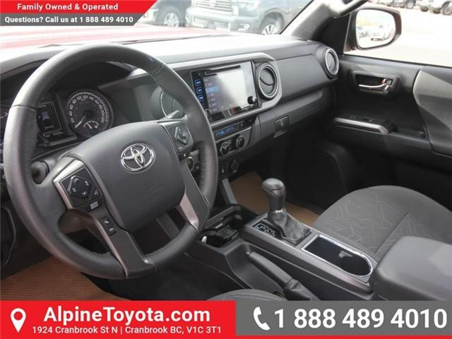 2017 Toyota Tacoma TRD Sport (Stk: X168867A) in Cranbrook - Image 9 of 20