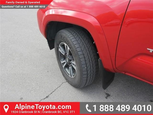 2017 Toyota Tacoma TRD Sport (Stk: X168867A) in Cranbrook - Image 19 of 20