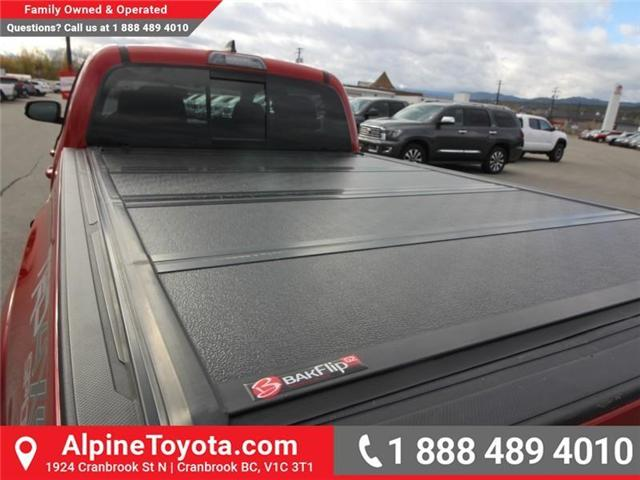 2017 Toyota Tacoma TRD Sport (Stk: X168867A) in Cranbrook - Image 20 of 20