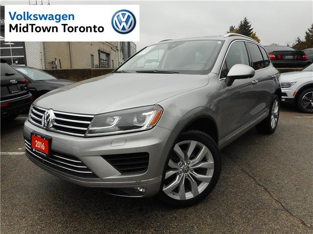 2016 Volkswagen Touareg  (Stk: W0097A) in Toronto - Image 1 of 30