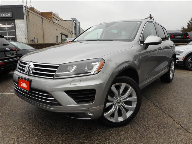 2016 Volkswagen Touareg  (Stk: W0097A) in Toronto - Image 2 of 30