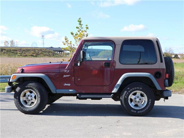 2002 Jeep TJ  (Stk: 8930B) in London - Image 2 of 16