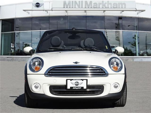 2015 MINI Convertible Cooper (Stk: D11617) in Markham - Image 2 of 18
