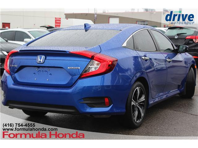 2018 Honda Civic Touring (Stk: 18-2199A) in Scarborough - Image 7 of 32
