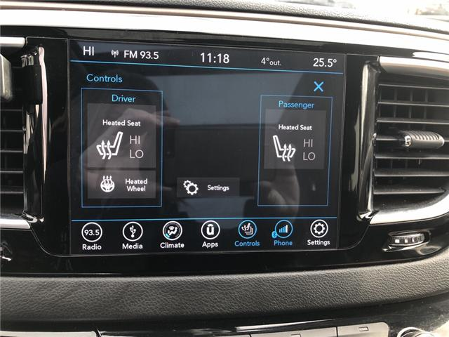 2018 Chrysler Pacifica Touring-L Plus (Stk: DF1534) in Sudbury - Image 16 of 21