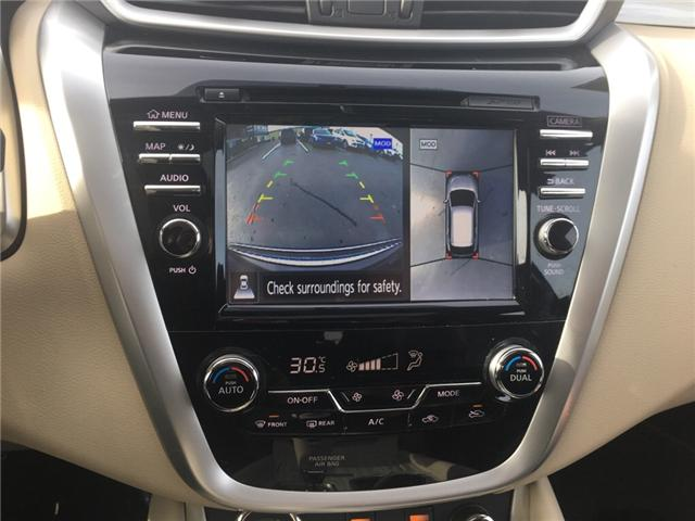 2016 Nissan Murano SL (Stk: 18590) in Sudbury - Image 14 of 15
