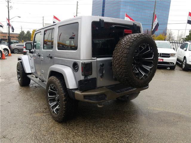2017 Jeep Wrangler Unlimited Sahara (Stk: 514405) in Toronto - Image 3 of 16