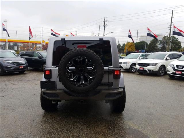 2017 Jeep Wrangler Unlimited Sahara (Stk: 514405) in Toronto - Image 4 of 16