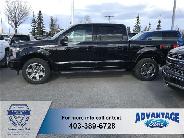 2018 Ford F-150 Lariat (Stk: J-1586) in Calgary - Image 2 of 5