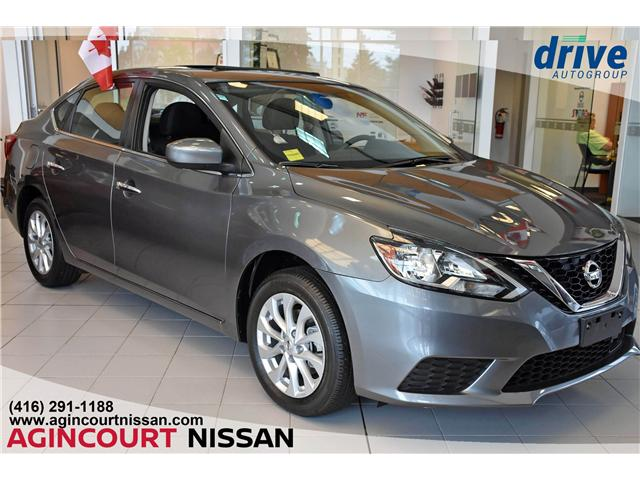 2018 Nissan Sentra 1.8 SV (Stk: JY286891) in Scarborough - Image 1 of 26