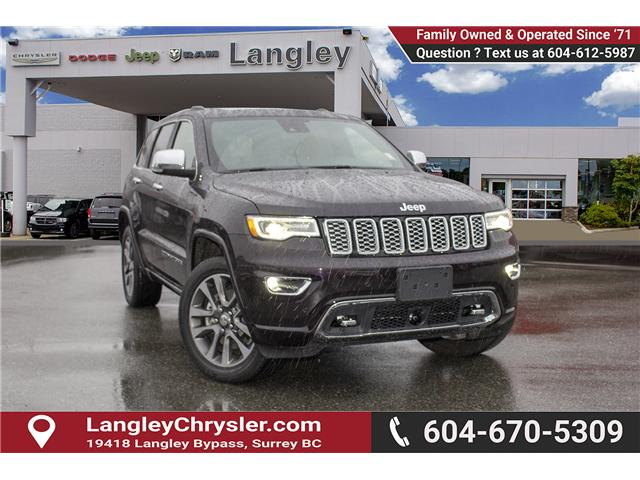2018 Jeep Grand Cherokee Overland (Stk: EE898870) in Surrey - Image 1 of 20