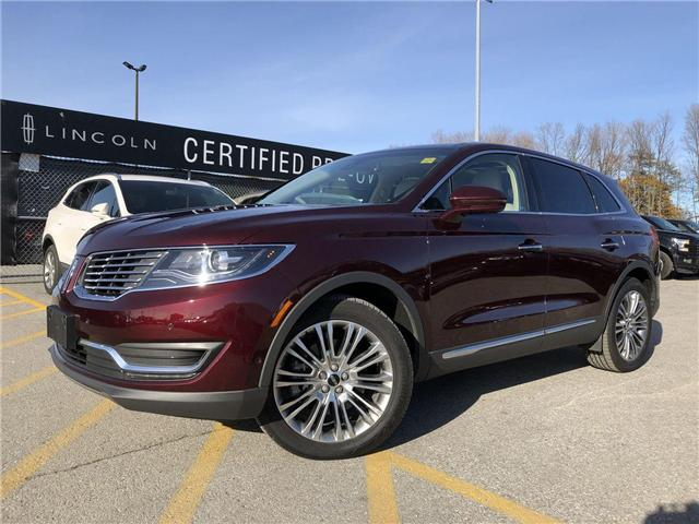 2018 Lincoln MKX Reserve (Stk: LX18974A) in Barrie - Image 1 of 25