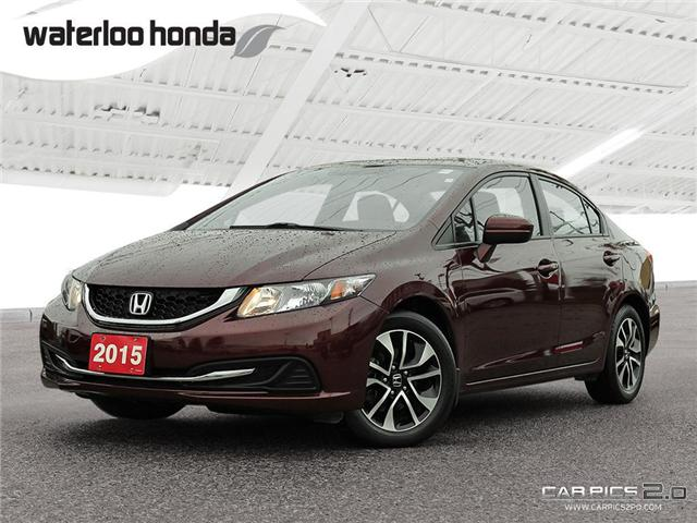 2015 Honda Civic EX (Stk: H4224A) in Waterloo - Image 1 of 28